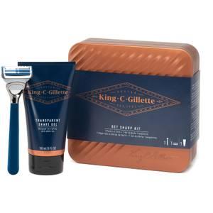 King C. Gillette Hals- & Nackenrasierer-Geschenkset