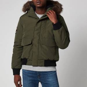 Superdry Men's Everest Bomber Jacket - Army Khaki
