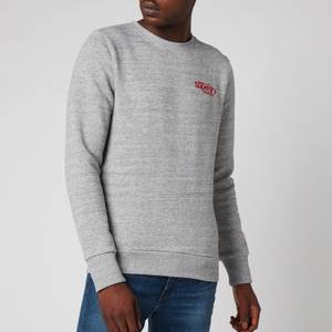 Superdry Men's Athletic Crewneck Sweatshirt - Soft Grey Marl