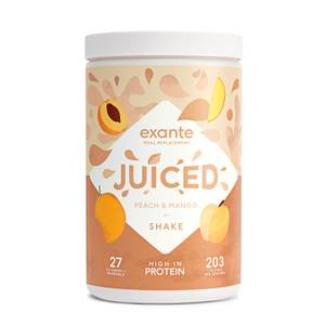 Peach & Mango JUICED Meal Replacement Shake 10 Serve Tub