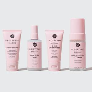 GLOSSYBOX Skincare Hydrate & Cleanse Set (Worth €88.00)