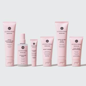 GLOSSYBOX Skincare Dry Skin Set (Worth €103.00)