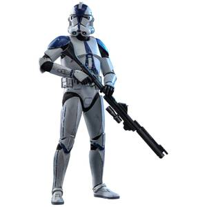 Hot Toys Star Wars The Clone Wars Actiefiguur 1/6 501ste Bataljon Clone Trooper 30 cm