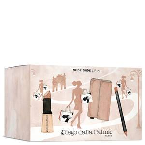 Diego Dalla Palma Nude Dude Lips Kit (Worth £25.47)