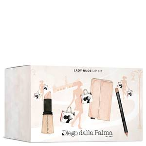 Diego Dalla Palma Lady Nude Lip Kit (Worth £25.47)