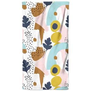 Funky Summer Pattern Beach Towel