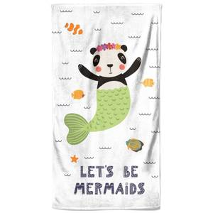 Let's Be Mermaids Beach Towel