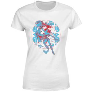 T-Shirt Wonder Woman Amazonian - Bianco - Donna
