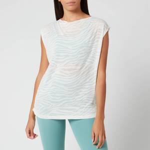 Varley Women's Emmett T-Shirt - Vanilla Sheer