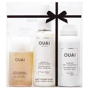 OUAI Get Your OUAI Hair Care Kit (Worth £44.00)