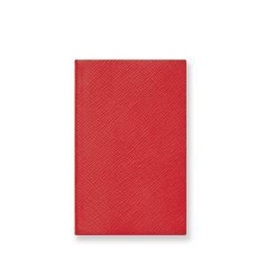 Smythson Panama Notebook - Red