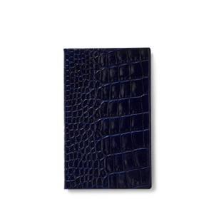 Smythson Mara Panama Notebook - Navy