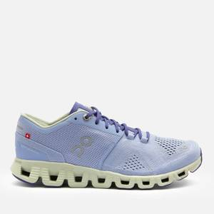 ON Women's Cloud X Running Trainers - Lavender/Ice