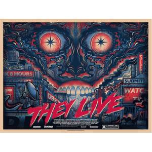 They Live Screenprint by Drew Millward