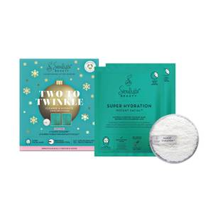 Seoulista Beauty Two to Twinkle Cleanse and Hydrate Christmas Pack (Worth £21.00)