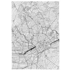 Frankfurt City Map Tea Towel