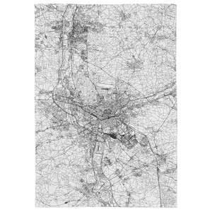 Nuremberg City Map Tea Towel