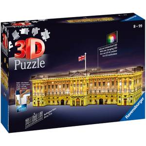 Ravensburger Buckingham Palace Night Edition 3D Puzzle (216 Pieces)