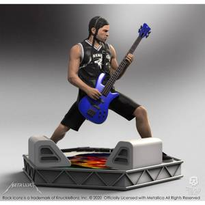 Knucklebonz Metallica Rock Iconz Statue Robert Trujillo Limited Edition 22 cm