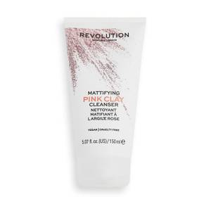 Revolution Skincare Mattifying Pink Clay Mud-to-Foam Cleanser