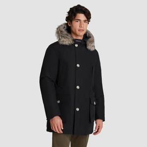 Woolrich Men's Arctic Fur Collar Parka - New Black