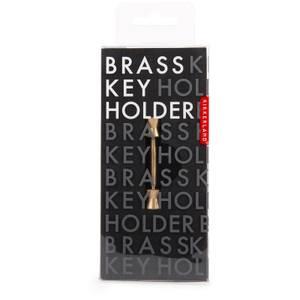 Kikkerland Short Cone Brass Key Holder