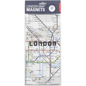 Kikkerland London Map Magnets
