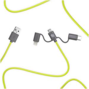 Thumbs Up! Link 3-in-1 Cable 1m - Green