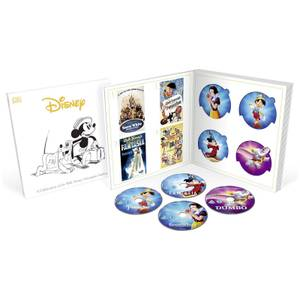 Collection Complète Disney Classiques (57 Disques) Blu-Ray