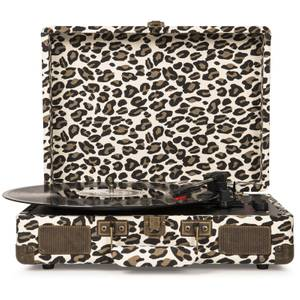 Cruiser Deluxe Portable Turntable (Leopard)