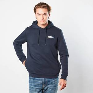 Back to the Future CarStripes Hoodie - Navy