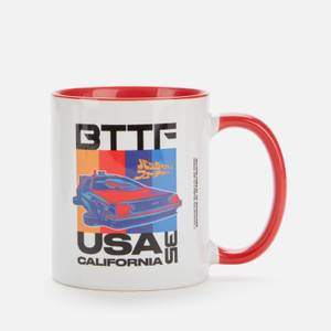 Back to the future Mug - White/Red
