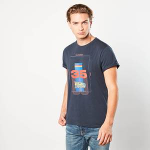 Back to the Future Thirty Five Unisex T-Shirt - Navy