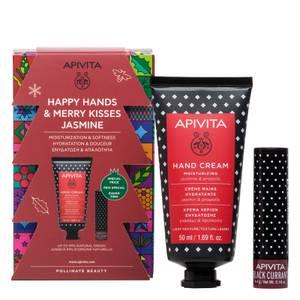 APIVITA Happy Hands and Merry Kisses Jasmine (Worth £12.20)