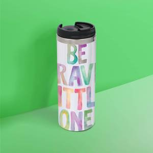 The Motivated Type Be Brave Little One Thermo Travel Mug