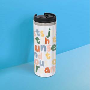 The Motivated Type Lets Just Watch The Sunset Thermo Travel Mug