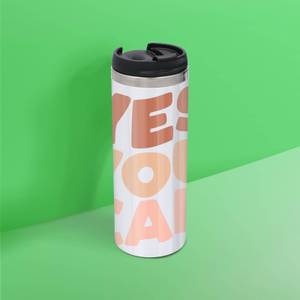 The Motivated Type Yes You Can Thermo Travel Mug