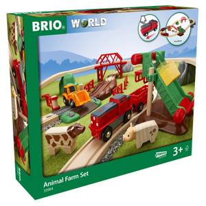 Brio World - Animal Farm Set
