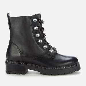 Kurt Geiger London Women's Bax 2 Leather Boots - Black