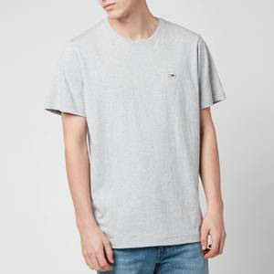 Tommy Jeans Men's Classic Jersey T-Shirt - Light Grey Heather