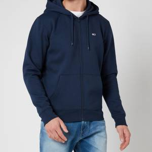 Tommy Jeans Men's Regular Fleece Zip Hoodie - Twilight Navy
