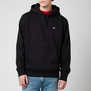 Tommy Jeans Men's Regular Fleece Hoodie - Black