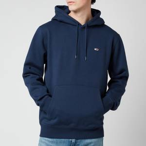 Tommy Jeans Men's Regular Fleece Hoodie - Twilight Navy
