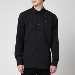 Tommy Jeans Men's Original Stretch Long Sleeve Shirt - Tommy Black