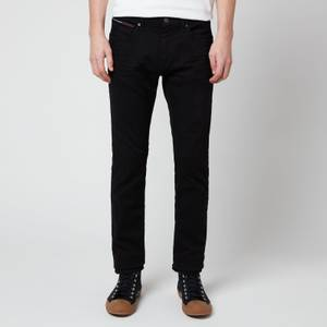 Tommy Jeans Men's Scanton Slim Jeans - New Black Stretch
