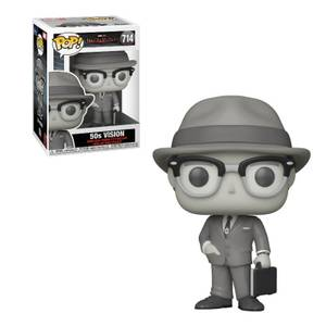 Marvel WandaVision 50's Vision (Black & White) Pop! Vinyl Figure