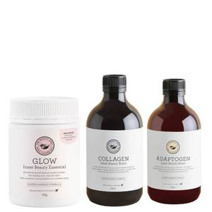 The Beauty Chef Glow, Collagen and Adaptogen Trio (Worth $166.00)