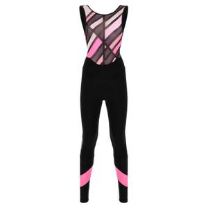 Santini Women's Coral Raggio Bib Tights - Black