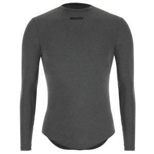 Santini Thermal Insulation Long Sleeve Baselayer - Grey