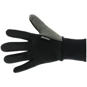 Santini Windproof Winter Gloves - Black